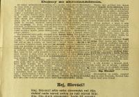 1. A Turócszentmártoni deklaráció