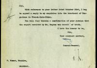10. Boissevain sanghaji holland főkonzul válasza Komor Pálnak