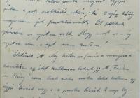 10. Orosz Károly önkéntes hadapród levele anyjához, özv. Orosz Lajosné br. Kemény Annához