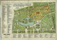 12. Az 1885. évi városligeti országos kiállítás és közvetlen környékének helyszínrajza