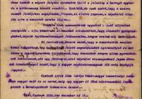 13. Csetnek község tiltakozó levele a magyar kormányhoz