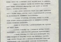 2. Nagymaros Kommunista Pártjának a miniszterelnökhöz előterjesztett kérelme