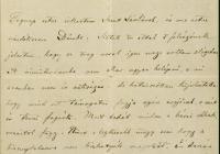 3. Andrássy Gyula levele Ferenczy Idának