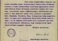 3. Dienes László nyílt parancs kiállítását kérvényezi vidéki könyvtárak szervezése céljából