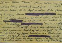 3. Orosz Károly önkéntes hadapród tábori lapja
