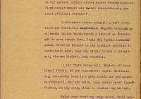 4. Almássy Györgyné Zichy Zenke beszámolója a földosztásról és az aktuális hírekről; Zichy Eleonóra 1919. március 5-i bejegyzése