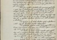 5. Az 1885. évi Budapesti Általános Kiállítás Országos Bizottságának levele a kerületi kiállítási bizottsághoz Budapesten