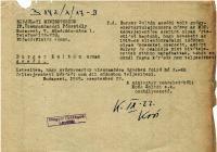 5. Minisztériumi feljegyzés és döntés Burger Zoltán gyógyszertára kapcsán
