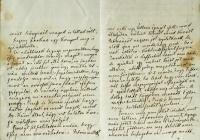 5. Tisza Kálmán feleségéhez írt levele geszti tartózkodásáról
