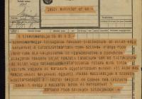 6. A Szepes Vármegyei Tót Nemzeti Tanács távirata Jászi Oszkárhoz