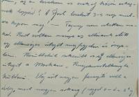 6. Orosz Károly tüzér megfigyelő levele anyjához, özv. Orosz Lajosné br. Kemény Annához