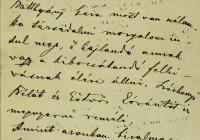 6. Wekerle Sándor levele Darányi Ignácnak Kossuth temetésével kapcsolatban