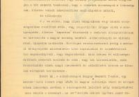 7. A Körmöcbányai Nemzeti Tanács felirata a kormányhoz
