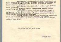 8. A külügyminiszternek írt levél a Nagymarosról a szovjet katonák által elszállítottak névsoráról