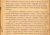 8. Eperjes Nemzeti Tanácsának memoranduma a kormányhoz
