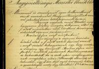 8. Eszterházy Miklós herceg levele a miniszterelnöknek és a belügyminiszternek