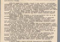 9. Hajas József, Lencsés János és Hrdy Vince nyilatkozatai a nagymarosi elhurcolásokkal kapcsolatban