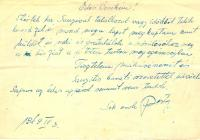 9. Kelemen István második levele