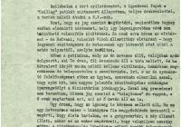 9. Örkény István levele gyógyszertára ügyében