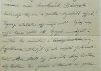 9. Orosz Károly önkéntes hadapród levele anyjához, özv. Orosz Lajosné br. Kemény Annához