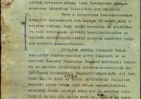 Ambrózy Lajos követjelentése Magyarország burgenlandi álláspontjához kapcsolódóan
