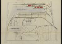 A csepeli kikötő helyszínrajza (Magyar Nemzeti Levéltár Országos Levéltára Z863-20d-9t)