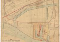 A Nemzeti és Szabadkikötő helyszínrajza (Magyar Nemzeti Levéltár Országos Levéltára Z863-77d-82t)