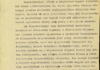 Jelentés a Kánya Kálmán, Suvich olasz külügyi államtitkár és Berger-Waldenegg osztrák külügyminiszter között folytatott beszélgetésről