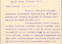 Károlyi József lemondó levele Batthyány Tivadarnak