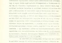 Memorandum az 1926/27. évi költségvetésről