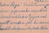 1917: Dr. Wenczel Árpád első világháborús családi levelezése (1916–1917)