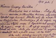 """1918: """"… szeretnék már a fenébe menni – de nem lehet"""" – Három levél az Országos Széchényi Könyvtár Irattárából"""