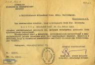 1944: Embermentő védlevelek 1944-ben
