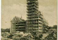 1914: Az Országos Levéltár kutatótermének első freskója