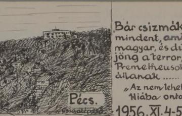 """2019: """"Béla"""", a """"Mecseki láthatatlan"""" – Kubicza János katonatiszt, 1956-os szabadságharcos története"""