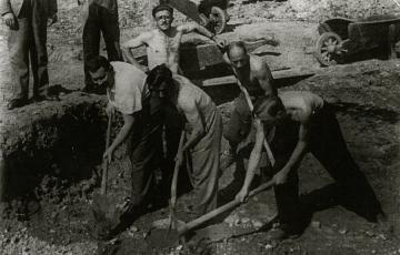 """1944: Egy munkaszolgálatos """"gyalogtúrája"""" Budapest és Hegyeshalom között"""