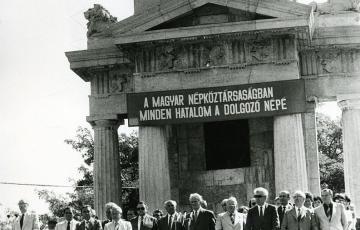 1984: Egy miniszteri beszéd 1984. augusztus 20-án Ópusztaszeren
