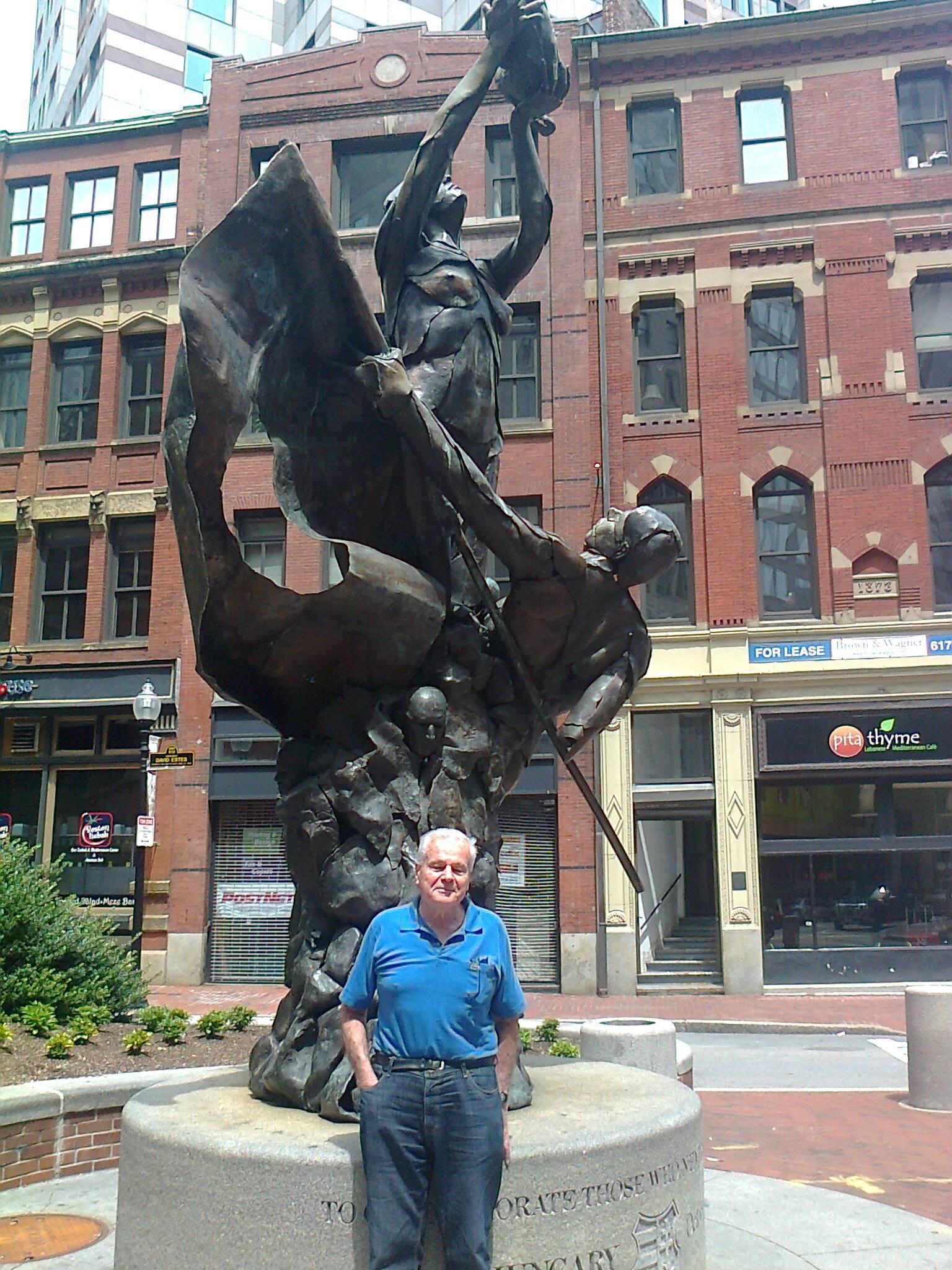 67b0c2802b Balogh Károly, a Harvard ny. professzora, a Massachusettsi Magyar Egyesület  korábbi többszörös elnöke
